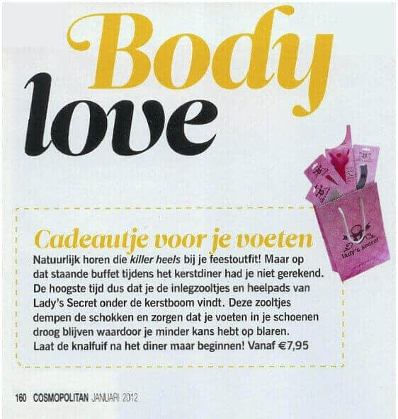 Cosmopolitan Lady's Secret artikel