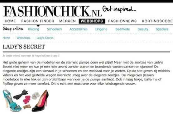 Lady's Secret inlegzolen fashionchick