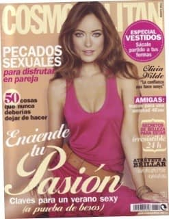 Lady's Secret inlegzolen Cosmopolitan Cover