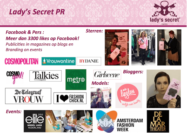 Lady's Secret PR