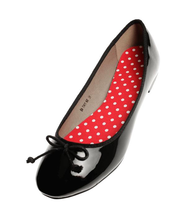 ballerina schoenen inlegzolen polka dots Lady's Secret
