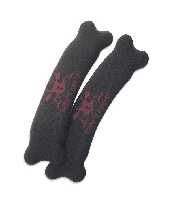 Hielbeschermers Lady's Secret No Pain zwart beter dan gel move your party feet antislip