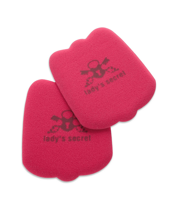 Hielpads Lady's Secret No Shock rood antislip