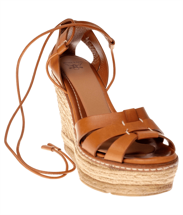Inlegzoooltjes open schoenen antislip Lady's Secret No Crash Caramel