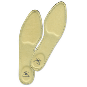 Inlegzolen echt leer voor in pumps Lady's Secret beige